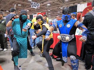 Reptile Scorpion Sub Zero Mortal Kombat Joanne Wong Flickr