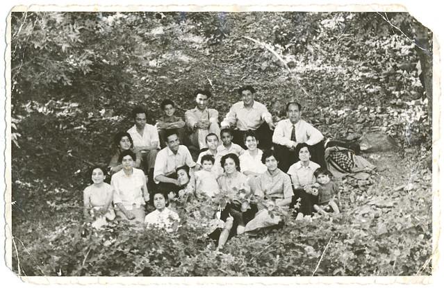 A Family Day Out, near Tehran, Iran (Persia), Summer 1953    گردش خانوادگی، نزدیکی تهران، تابستان ۱۳۳۲