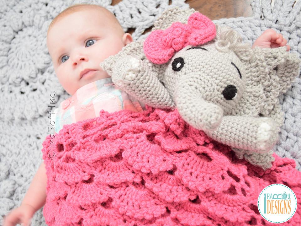 Elephant Lovey / Snuggle Buddy / Security Blanket Crochet pattern ... | 720x960