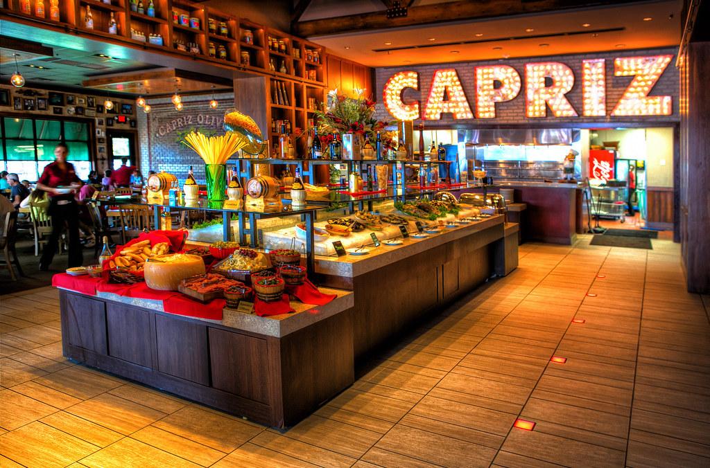 Capriz Restaurant Broadway At The Beach Myrtle Beach Sc