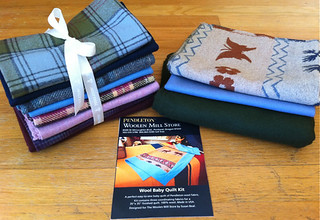 win this Pendleton wool FQ set + quilt kit!