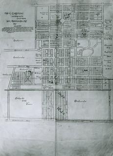 Map of Claremont, California (1897)