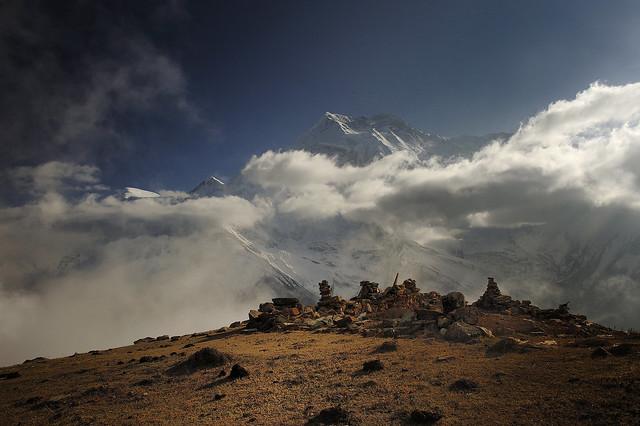 Annapurna II from Pisang BC, Nepal