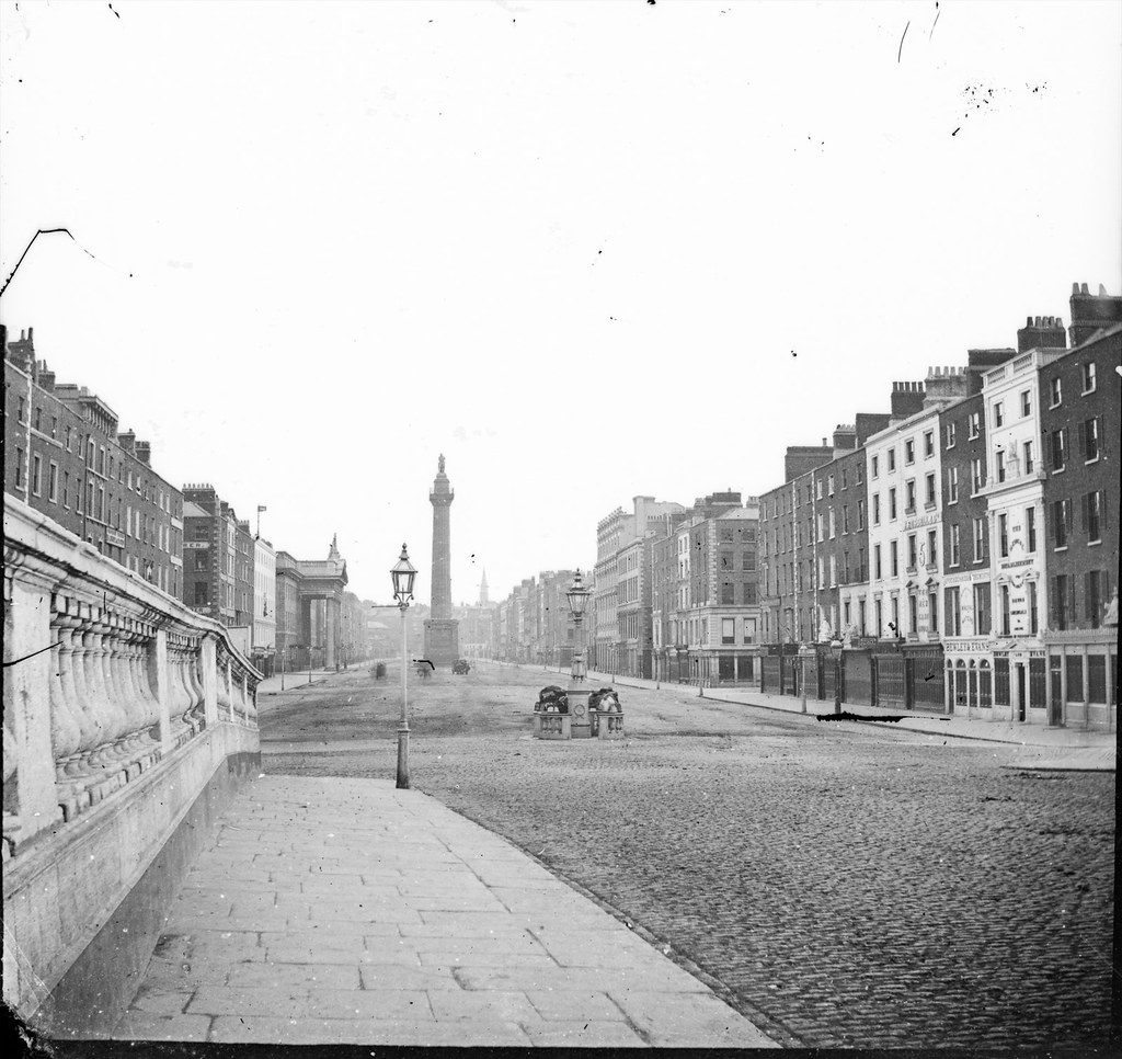 ... Sackville Street from Carlisle Bridge - by National Library of Ireland on The Commons