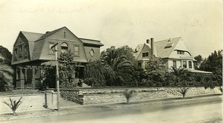 The Cook and Baldwin Houses in 1911