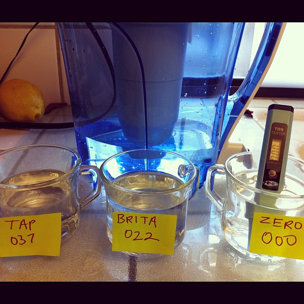 OMG Zero Water's TDS tester is amazing! I set up the Zero … | Flickr