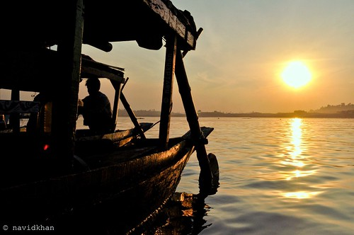 sunset sun reflection art silhouette contrast photography boat nikon sylhet bangladesh d600 jaflong d5000 jaaflong jaaflang
