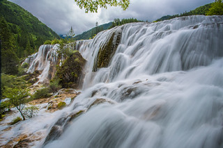 Pearl Shoal Fall at Jiuzhaigou Valley (珍珠滩瀑布) | by wenjieqiao