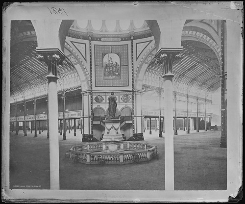 Inside view of the Garden Palace