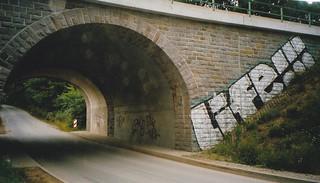 A1 bei Wuppertal, Fahrbahnteilung Blombachtal 2004/2005/2006_009 | by marlon_75