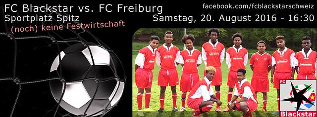 Match FC Blackstar vs. FC Freiburg vom 20.08.2016 - 16:30
