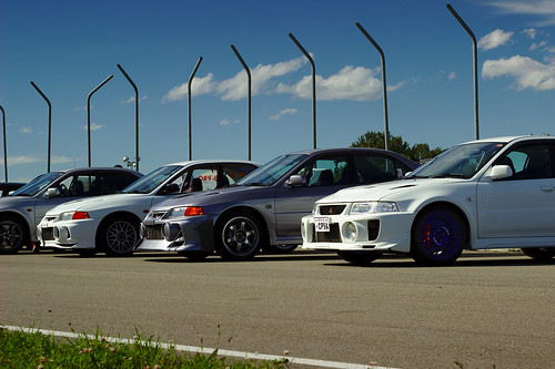 Two Racecars and a Ricer | by Lenglish1