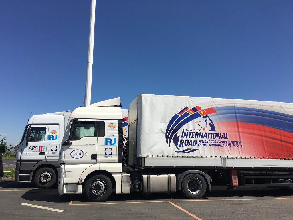 China-Russia trade corridor pilot caravan | IRU
