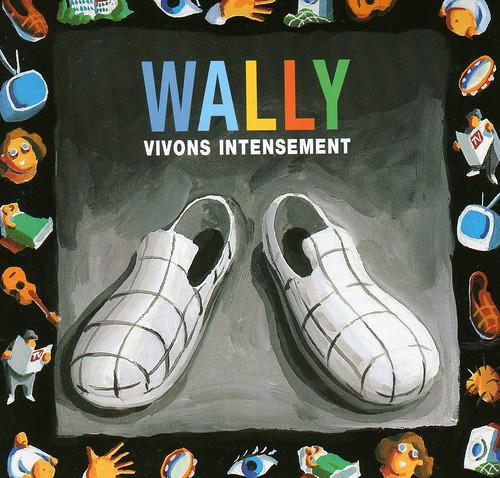 "jaquette ""vivons intensément"" 1er album wally | by lewally12"