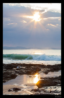 jeffreys bay beach sunrise | by Bogaard Travelpictures