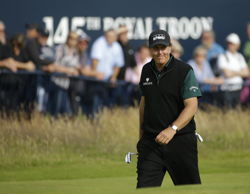 Phil Mickelson。(達志影像資料照)