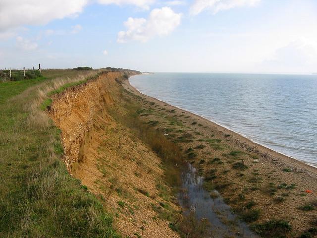 The Solent Way west of Titchfield Haven