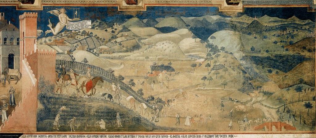 Sala Dei Nove Siena.Lorenzetti A Siena Pal Publico Sala Dei Nove E Wall Good