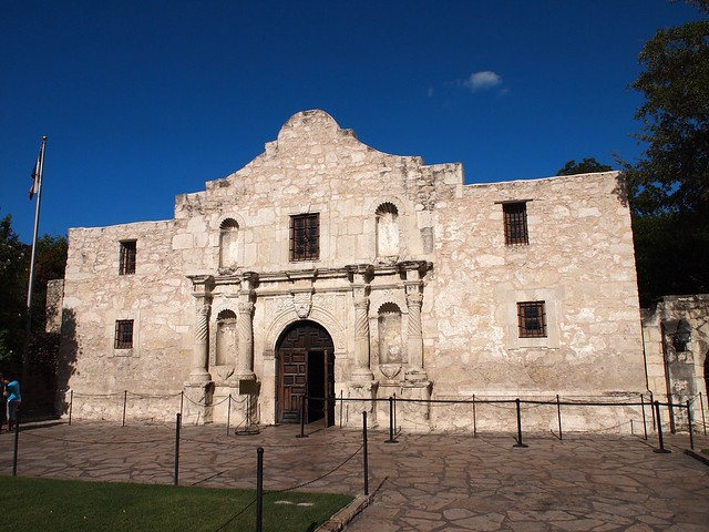 The Alamo in San Antonio (Texas, USA 2012)