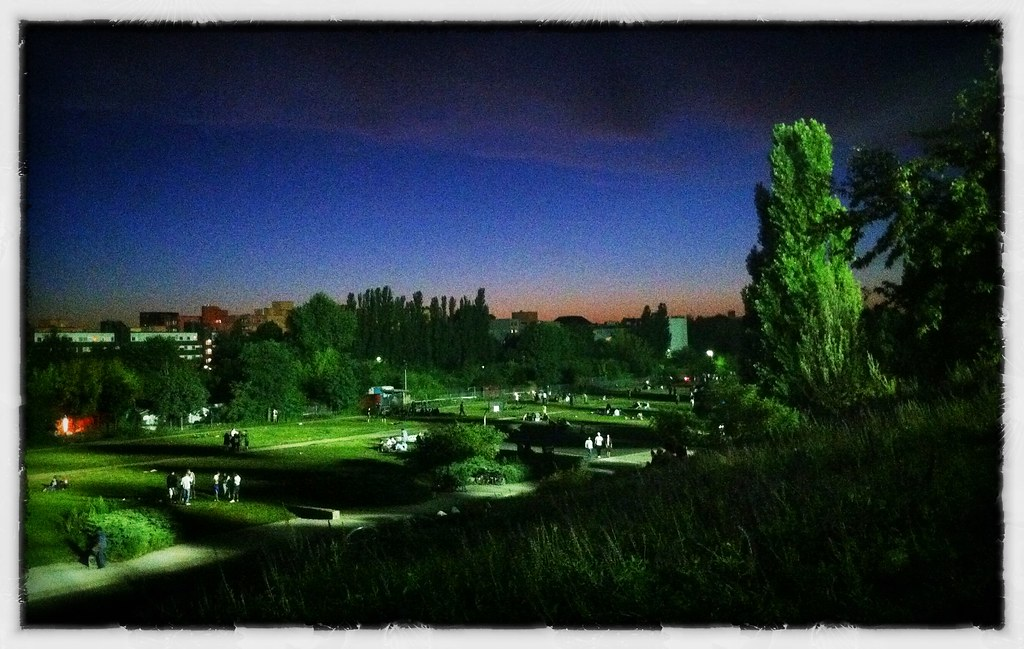 Mauerpark by Night