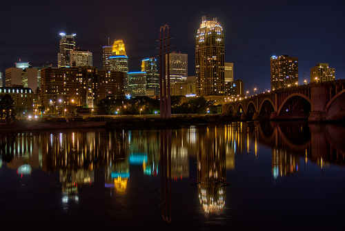 Minneapolis Reflection 2   by Photomatt28
