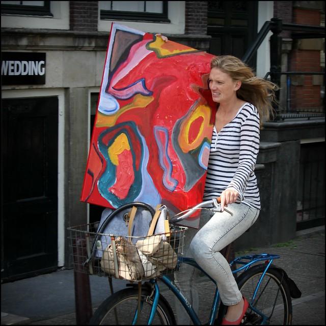 Art on a bike