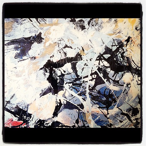There she goes like a painting, Jackson Pollock's number 5 | by SLR Jester