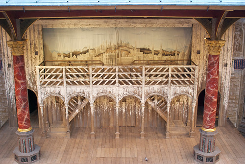 Stage, Globe Theater