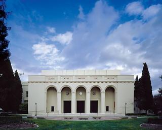 Bridges Auditorium was built in 1931