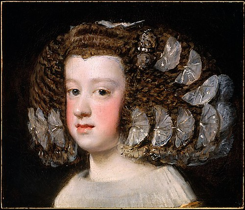 Velazquez, Diego (1599-1660) - 1651-54 Maria Teresa Infanta of Spain (Metropolitan Museum of Art, New York City)