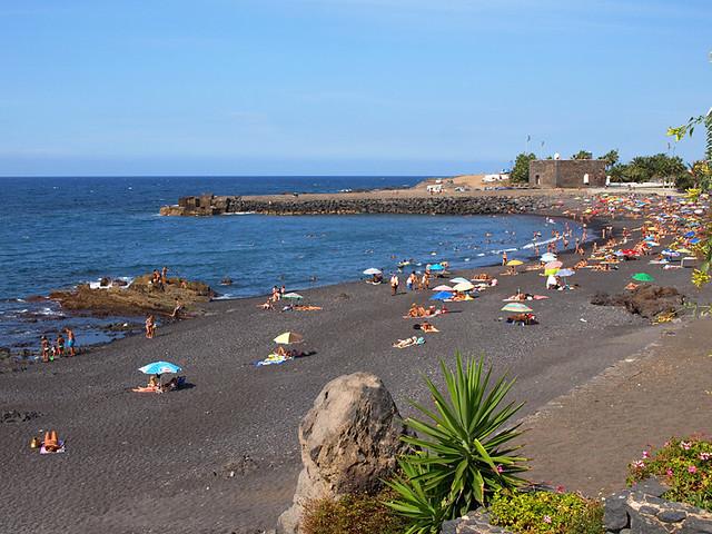 Playa Jardín, Puerto de la Cruz, Tenerife