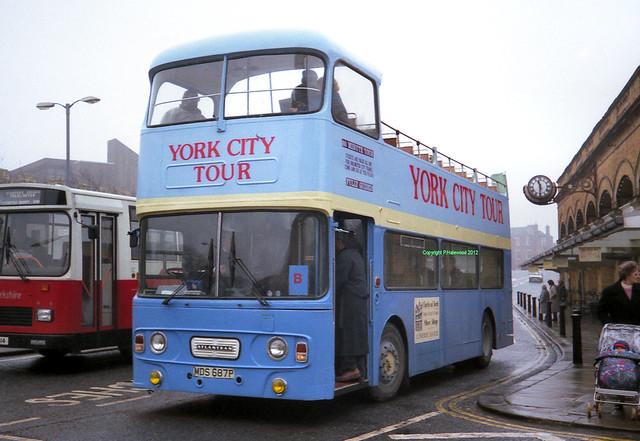 York City Tour MDS687P