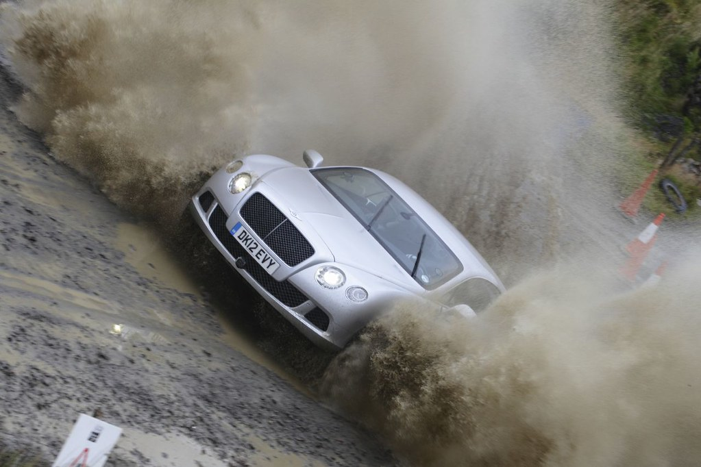 Wales Rally GB 2012, 'Rally' Bentley Continental GT, Top G