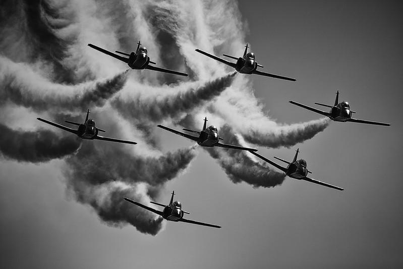 Patrulla Águila en SIAF y Airpower 2016