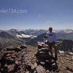 Blake on Iceberg Peak looking south