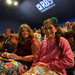 Happy and colourful audience | Happy Jacqueline Wilson audience