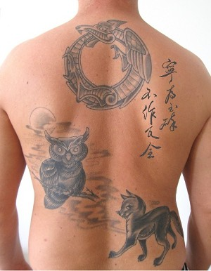 chinese quote tattoo, meaning saying with legendary animal… | Flickr