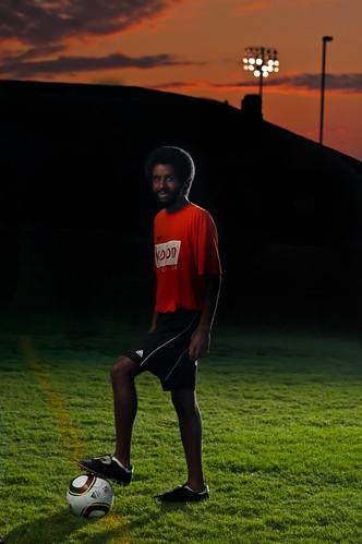sunset portrait sports grass contrast high saturated nikon key soccer flash low strobist