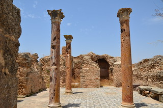 Roman baths, Thuburbo Majus (4)