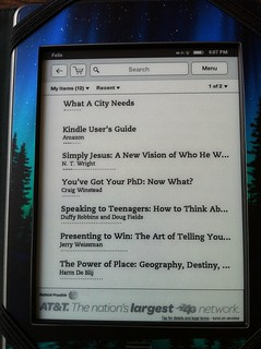 Kindle Reading Selections | by Wesley Fryer