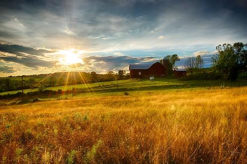 sunset summer landscape outdoors landscapes nikon outdoor pennsylvania d800 tonemapped wysox borderfx afsnikkor1635mmf4gedvr