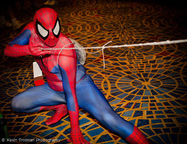 Look at That Spider-Man Go!