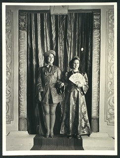 Princesses Elizabeth and Margaret starring in wartime Aladdin, 1943. | by National Science and Media Museum