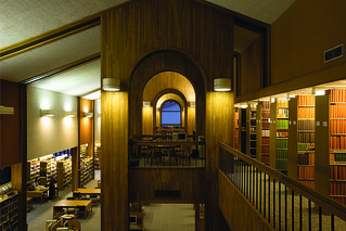 Mudd Science Library, built in 1983 and decommissioned as a library in 2009 as part of a reorganization of the Claremont Colleges library system