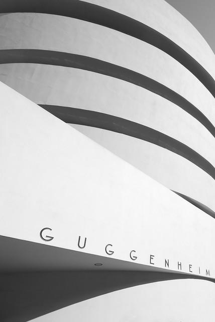 Outside Guggenheim