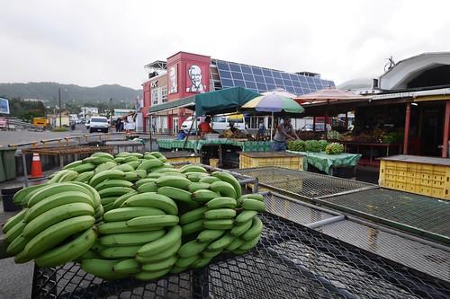市場 バナナ   by lulun & kame