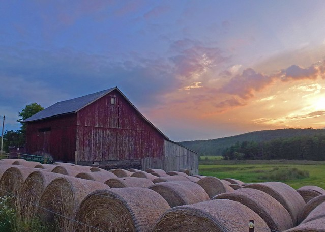 Sunset on the Farm  [Explored 8.18.2012]
