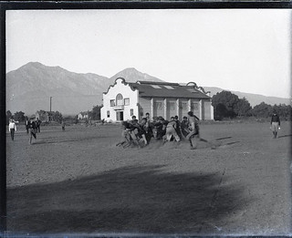 Football at Pomona College in 1905