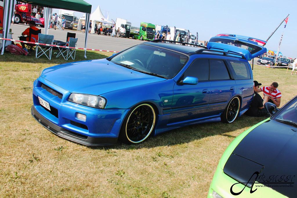 Nissan Stagea R34 Gtr Armin C Flickr