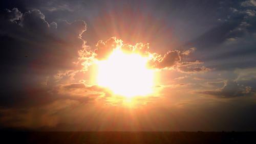 blue light sunset arizona sun white phoenix rain clouds gold glendale monsoon flare beams 4g sensation htc cloudsstormssunsetssunrises